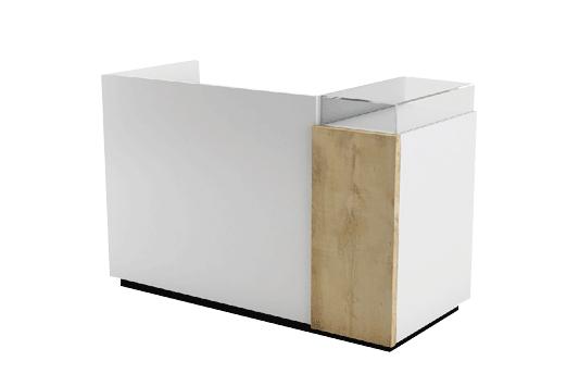 Reception banchi cassa per centro estetico easyflair for Arredamento centro estetico usato