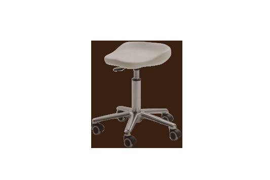 Sgabello estetista con ruote mod easy per centro estetico