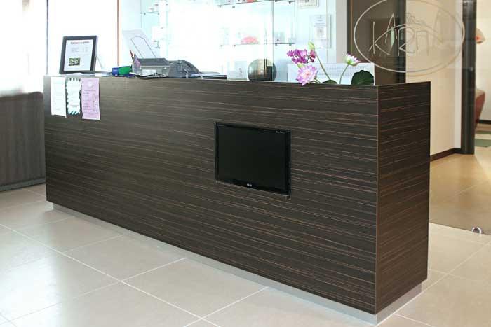 Centro estetico karma easyflair for Arredamento centro estetico usato